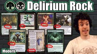 (Modern) ⚫️🟢 Delirium Rock - The Ultimate Grindy Fair Modern Deck!