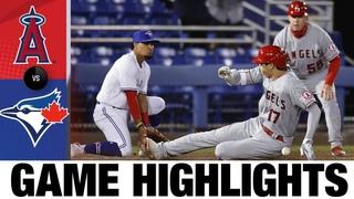 Angels vs. Blue Jays Game Highlights (4/10/21)   MLB Highlights