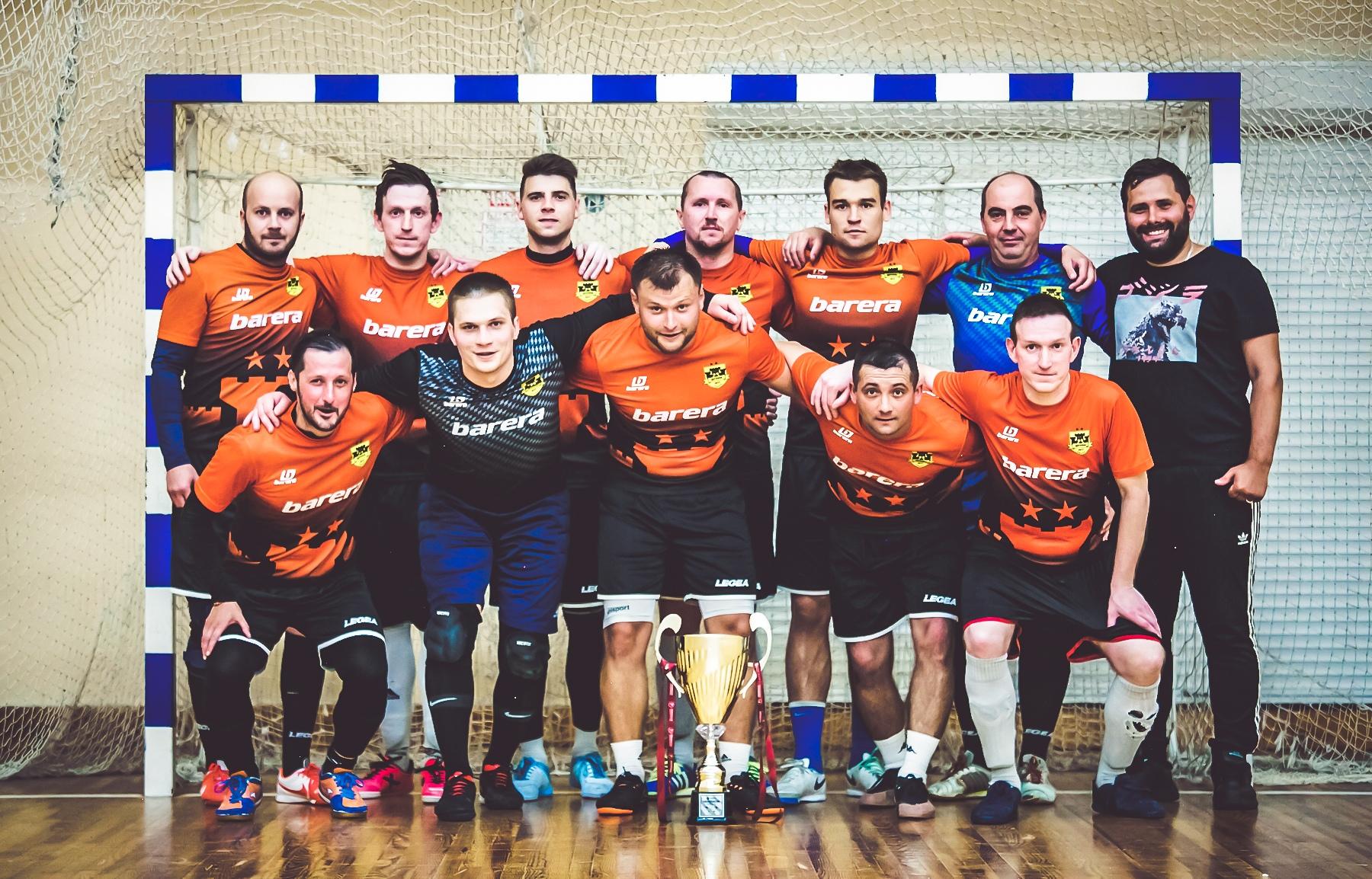 МФК Штурм — Трехкратный Чемпион Премьерлиги 5х5.