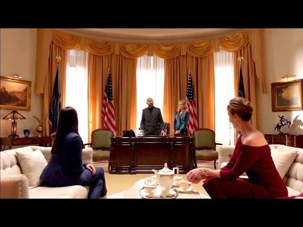 Lena vai a nomeação de Lex na casa Branca DUBLADO Português BR HD Supergirl 4x22