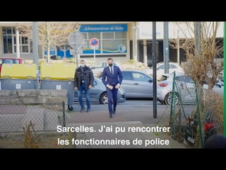 Sécurité en Île-de-France : Jordan Bardella en visite au commissariat de Sarcelles !