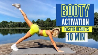 10 MIN. BOOTY ACTIVATION - do this before BOOTY WORKOUTS / MIND-MUSCLE CONNECTION | Mary Braun