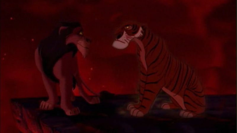 Disney Villains The Series 1x01 Shere Khan vs Scar The Mighty Fall Crossover