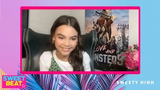 Ariana Greenblatt On Best Memories From Set Of 'Love And Monsters' With Dylan O'Brien