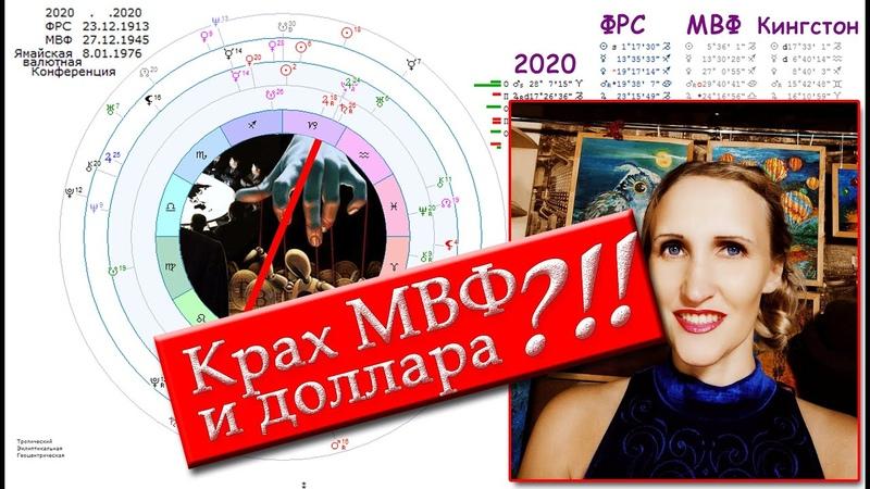 Когда Крах МВФ и доллара Астрология