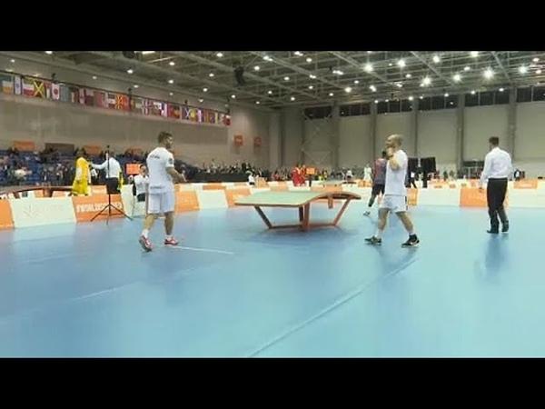 Campeonato do Mundo de Teqball em Budapeste