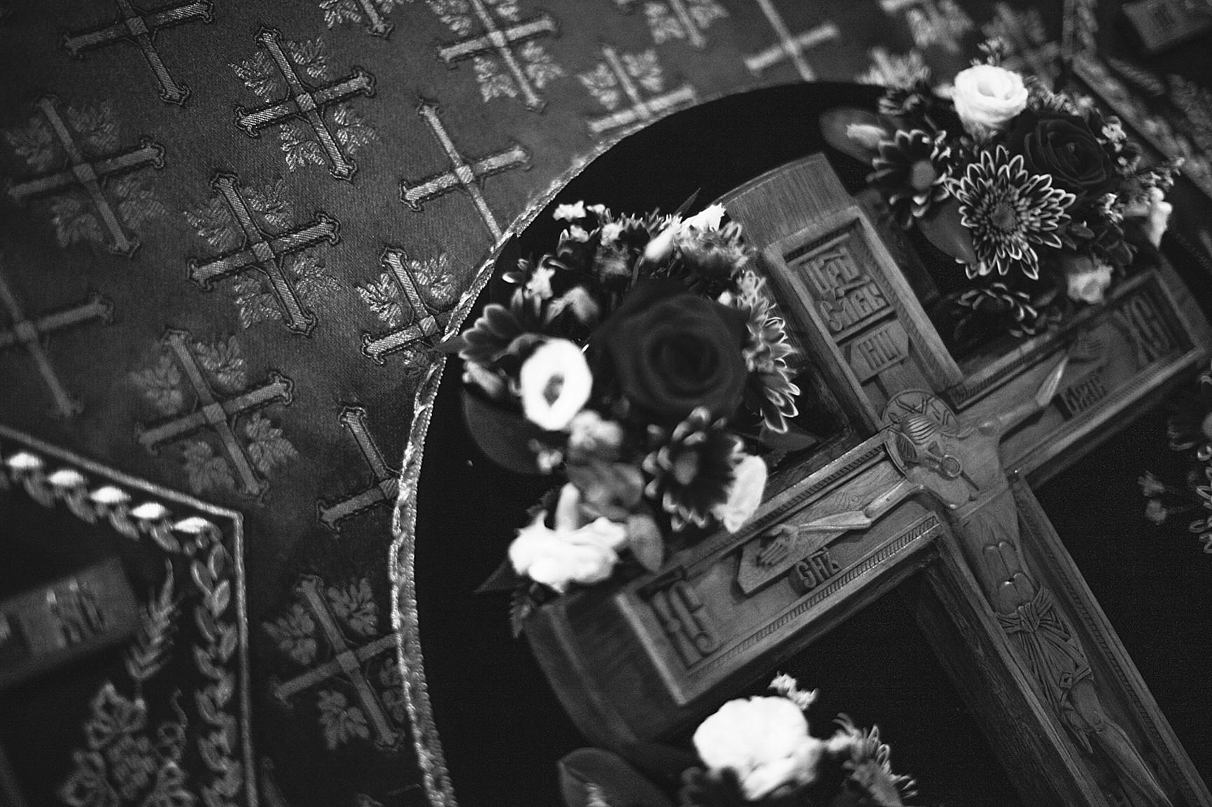 «День поклонения священному Кресту, придите к Нему все»: в Обители совершили богослужения Крестопоклонной Недели, изображение №8