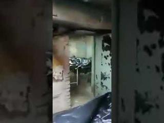 Завалы из тел умерших от covid в горбольнице Барнаула
