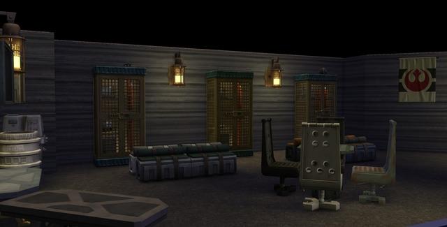 Картотека Батуу и световые мечи — подробно о сборе коллекций «The Sims 4: STAR WARS»