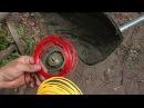 Как заправить леску в катушку триммера. Детальное руководство по работе с триммером
