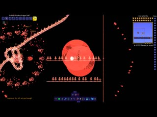 [OVA Let's Play] Terraria Supreme Buffed Stardust Dragon  vs Calamity Mod Boss Rush