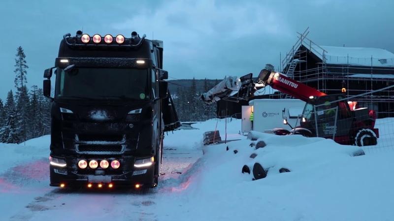 Reiss uz Skandināviju Trip to Scandinavia ENG RU subs