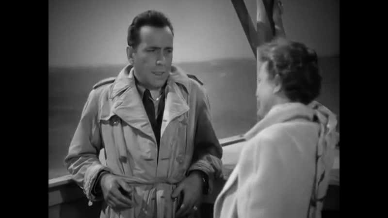 ЧЕРЕЗ ТИХИЙ ОКЕАН 1942 боевик драма мелодрама приключения военный Джон Хьюстон Винсент Шерман 720p
