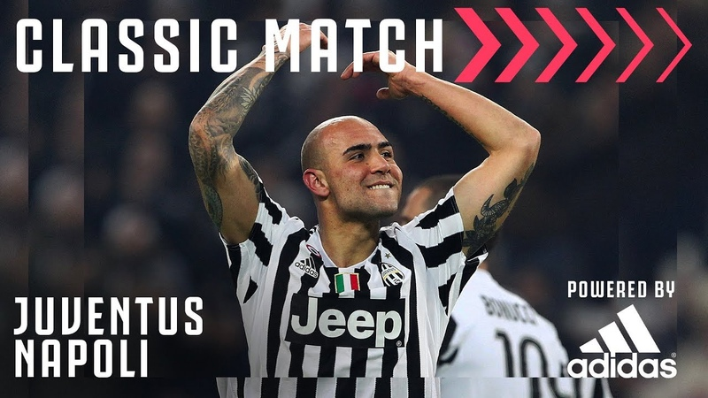 Juventus 1-0 Napoli   Zaza Scores to Send Juve Top of the Table!   Classic Match Powered by Adidas