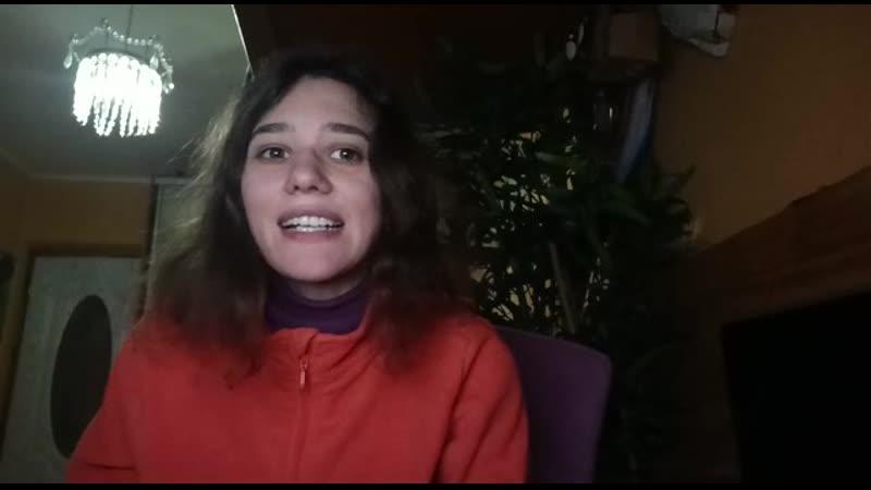 Мама глянь ка из окошка А Фет читает Алена Завалкина