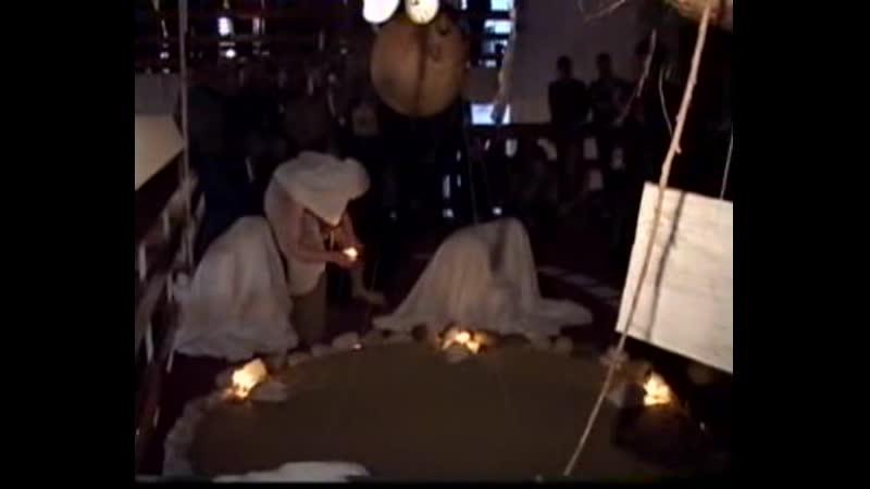 фестиваль Белые ночи перформанс Кокон Внутренних Птиц снимало ТВЦ 1часть