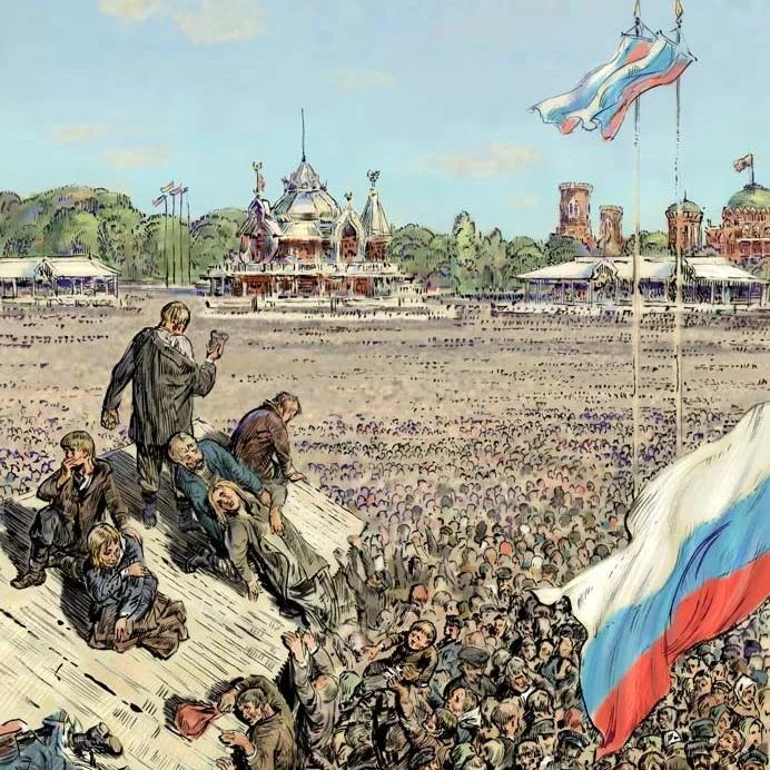 Tragedy on the Khodynka field