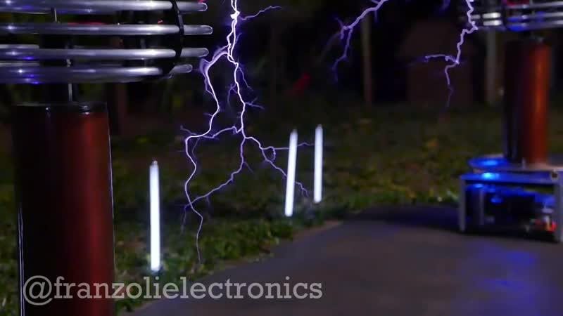Queen Meets Singing Tesla Coils The Show Must Go On