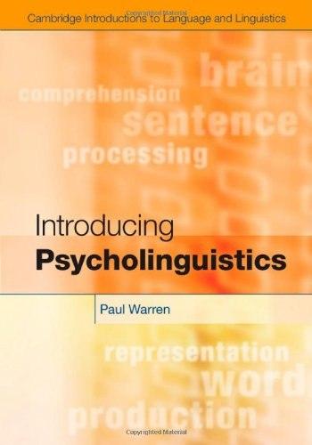 Introducing Psycholinguistics