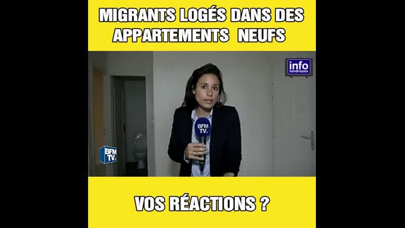 Des « migrants » de Calais logés dans des appartements neufs à Cognac. Vos réactions ?