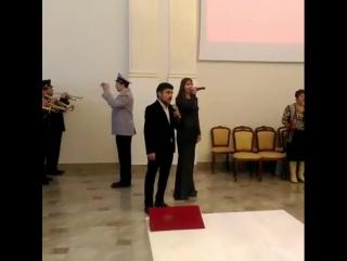 Карина и Радмир Хасановы - Гимн России