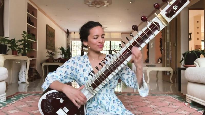 Sandhya Raga by Ravi Shankar performed by his students
