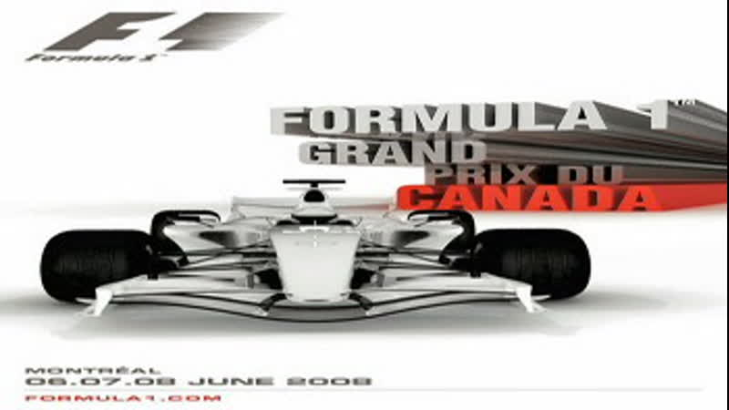 Формула 1 Сезон 2008 Этап 07 из 18 Гран При Канады Гонка SATRip Premier звук RenTV
