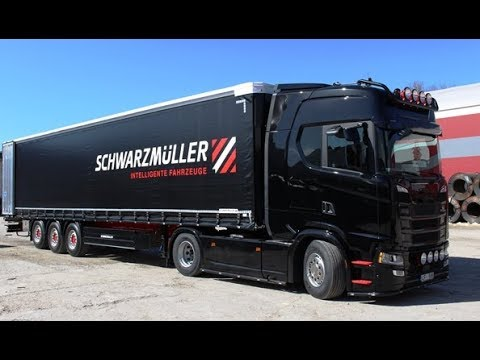 Maris and his Scania S450 RU ENG subs