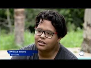 Com 100 quilos a menos, o adolescente mais obeso do Brasil volta a jogar bola