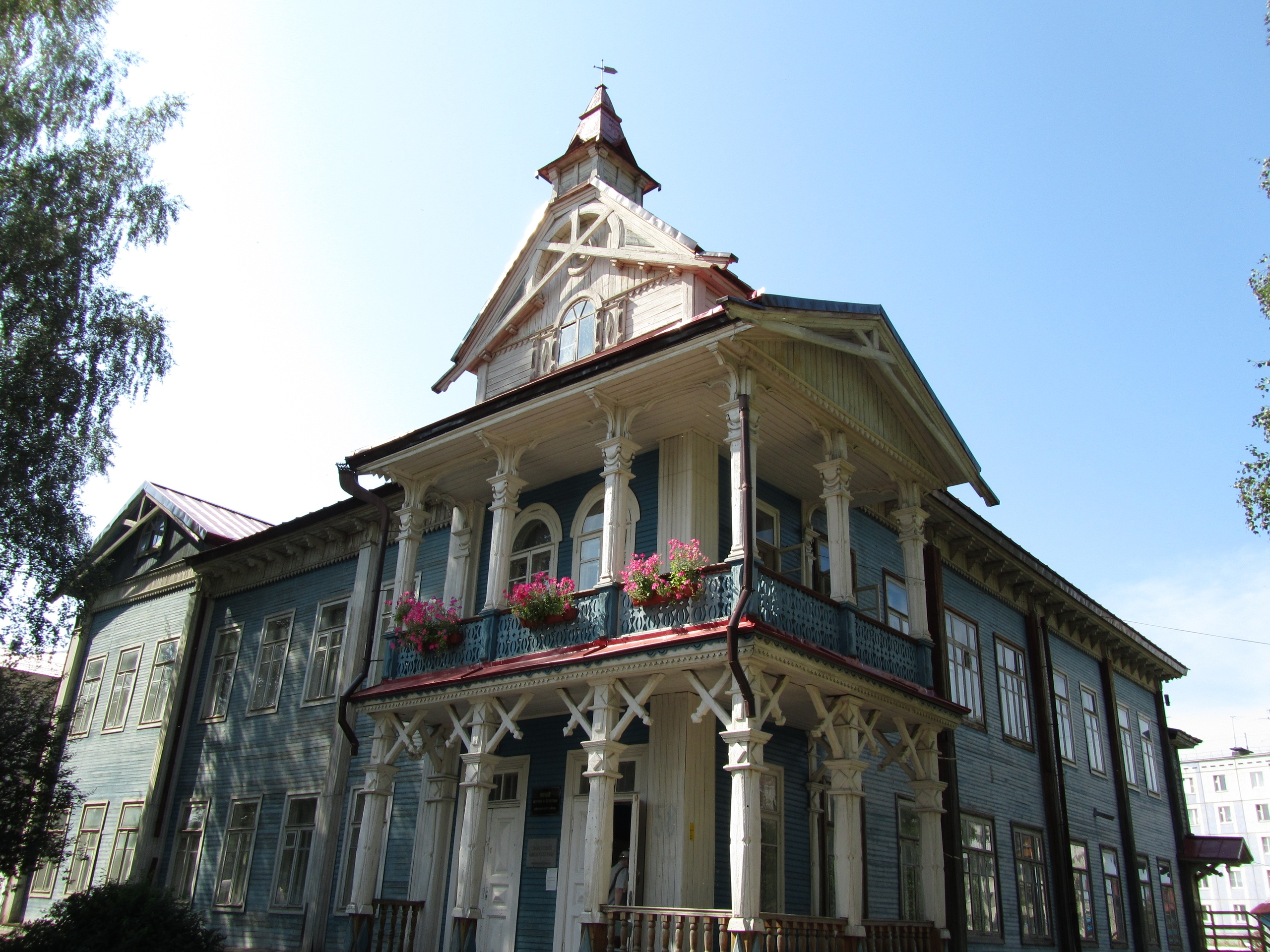 В старинном здании музей Выльгорт
