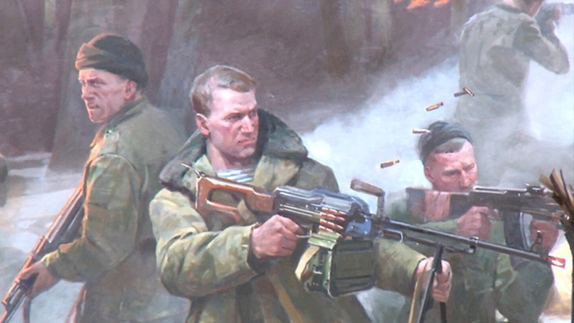 К 90-летию Воздушно-десантных войск!!!«Лучше смерть, чем плен», изображение №1