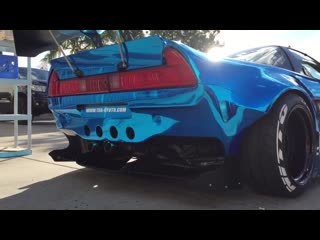 The unveiling of the first Rocket Bunny NSX