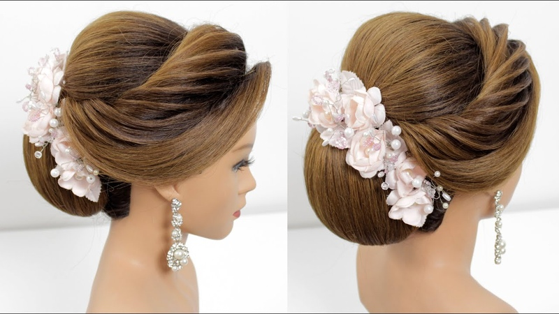Beautiful Bun Hairstyles for medium and long hair Hair Style Girls Hairstyles for Wedding