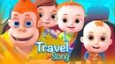 Travel Song Single Transport Vehicles For Children Nursery Rhymes For Kids