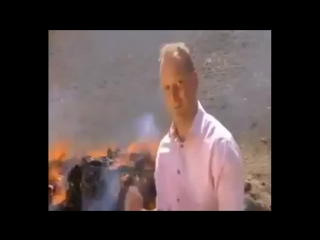 Legally high: bbc news reporter inhales burning drugs and can't finish report