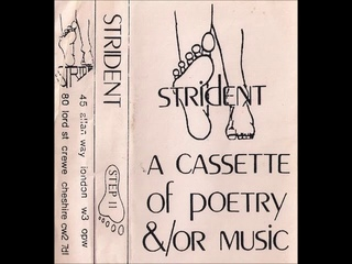 Various Artists - Strident: A Cassette Of Poetry &/Or Music (1983)
