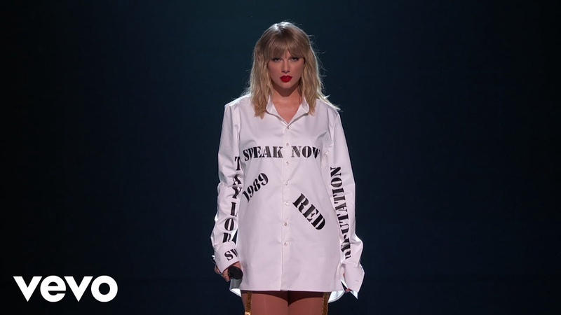 Taylor Swift Live at the 2019 American Music Awards