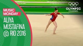 "Aliya Mustafina's Floor Routine to ""Moscow Nights"" at Rio 2016 | Music Monday"