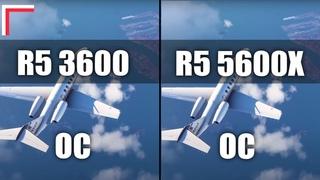 AMD Ryzen 5 3600 OC vs AMD Ryzen 5 5600X OC — Test in 8 Games! [1080p, 1440p]