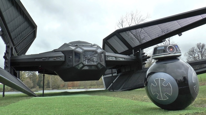 I Built a FULL SIZE Tie Fighter Silencer