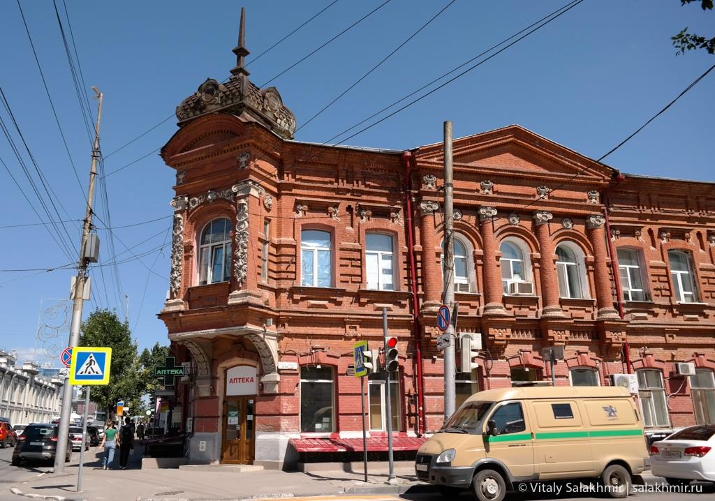 Исторические дома в центре Саратова, 2020