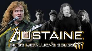 What if Dave Mustaine sings Metallica songs? (Master, Blackened, Enter Sandman, etc)