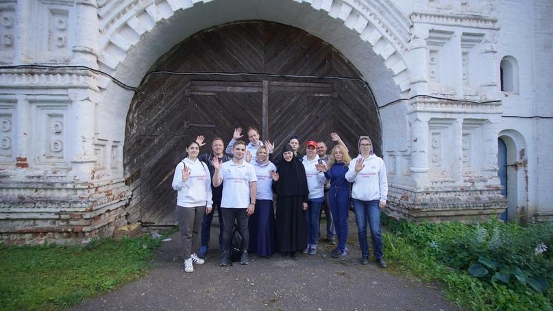 Добровольческий десант в Горицкий Успенский монастырь
