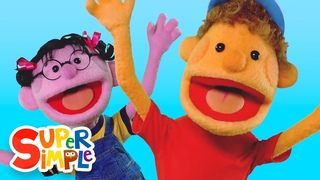If You're Happy And You Know It   Kids Songs   Super Simple Songs