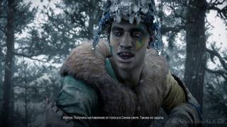 Фильм Horizon Zero Dawn DLC Frozen Wilds игрофильм фантастика фэнтази