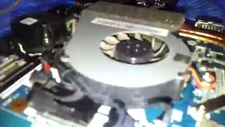 Разборка и чистка ноутбука Sony VAIO VPCF2