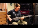 Meshuggah Ibanez LACS RG8 / M8M / M80M tonal comparison w/ Fortin Satan