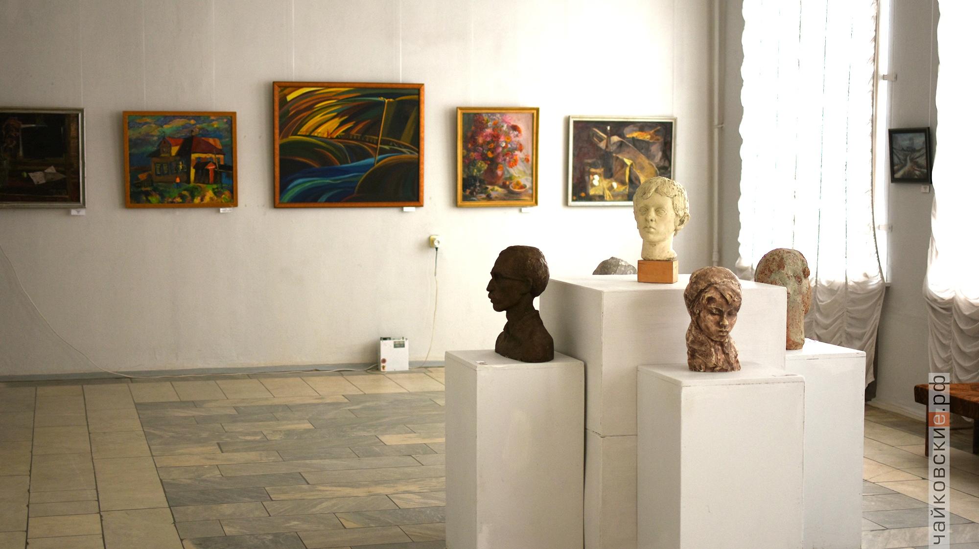выставка родные адреса, чайковский район, 2020 год