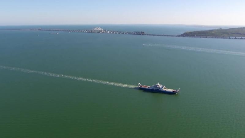 Украшение юга России самые живописные кадры Крымского моста