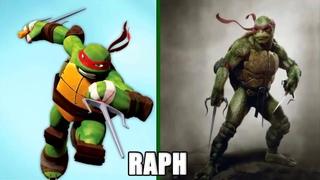 Teenage Mutant Ninja Turtles  in real life /  черепашки ниндзя  в реальной жизни